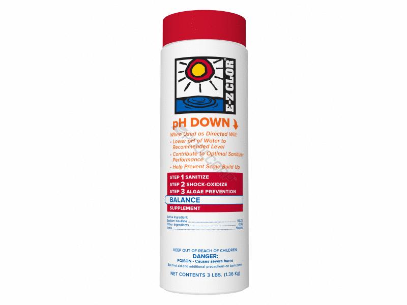 pH Down 3# *EZC-50-7002